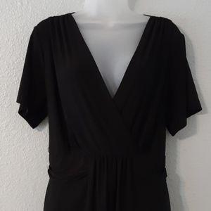 Avenue Black Dress 18/20